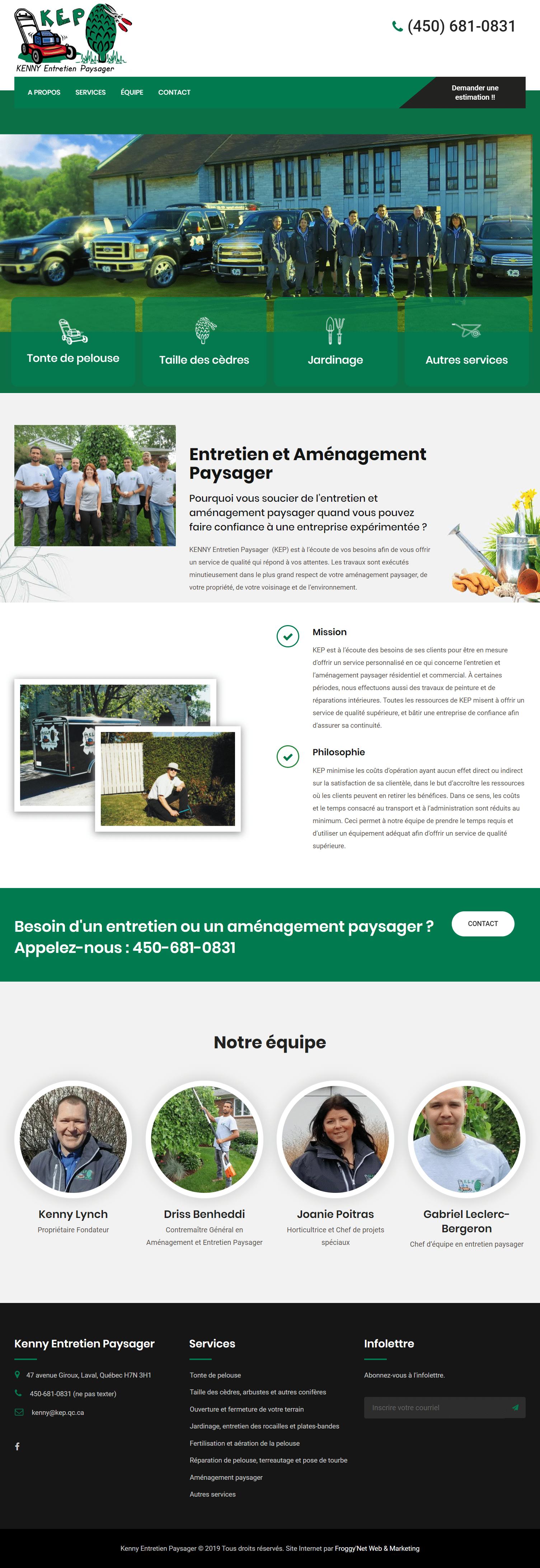 Forfaits création site web 3
