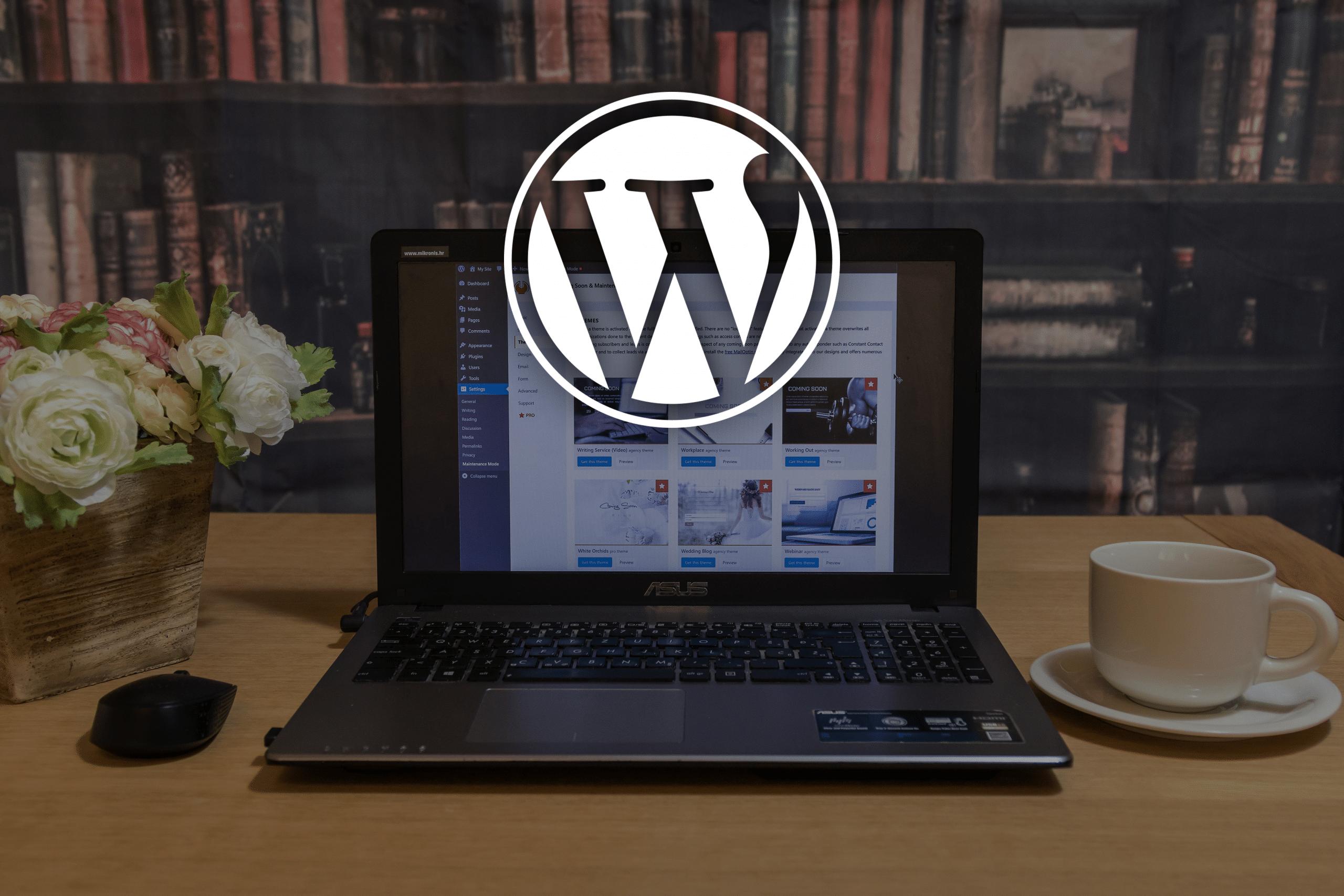 Wordpress, création et mise à jour de site Web 2
