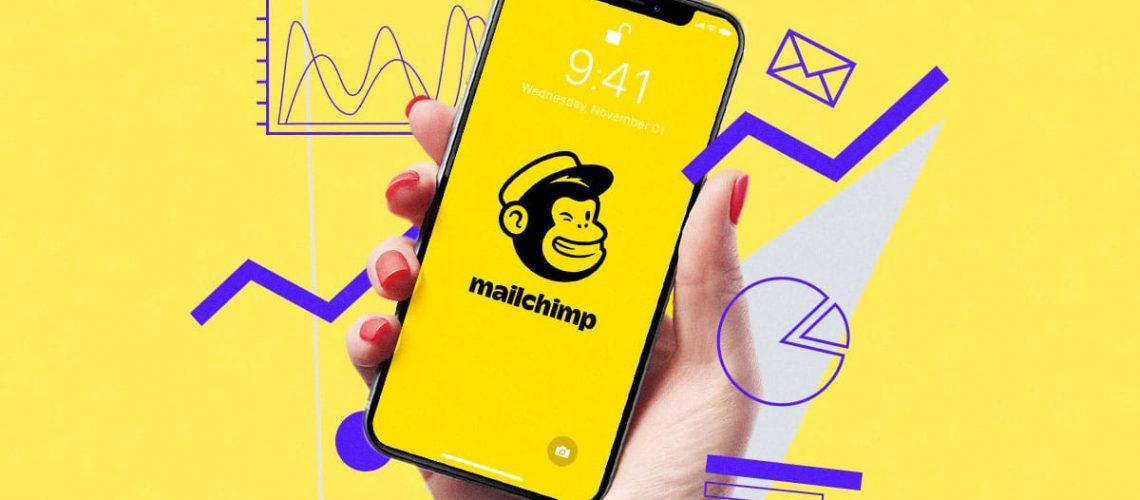 interface de mailchimp